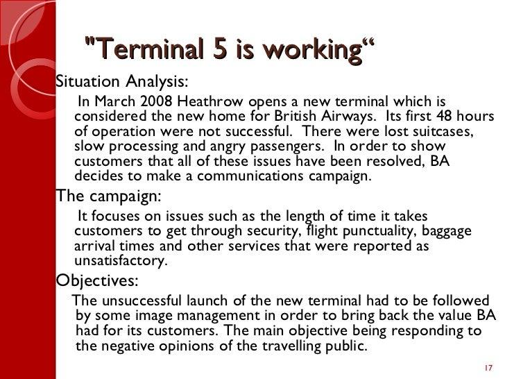 an analysis of article british airways The author of this essay analysis on british airways focuses on the british airways business it is stated here that british airways is one.