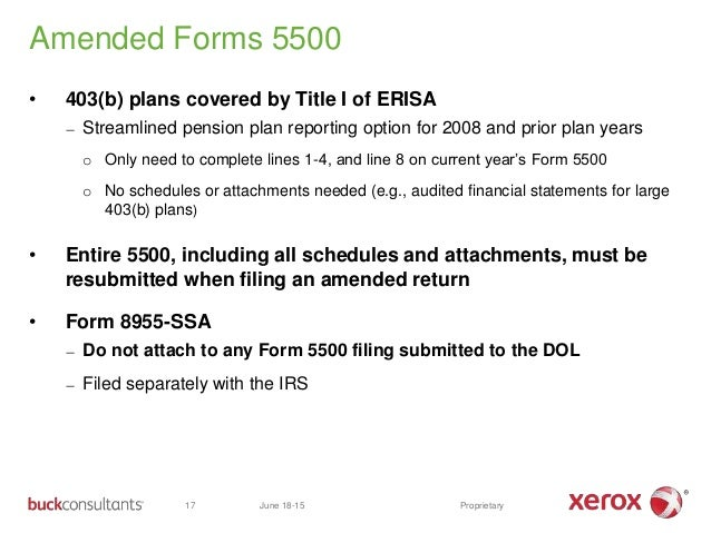 1 buck's form 5500 presentation (rev 6 17-15)