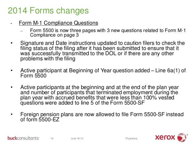 1 buck's form 5500 presentation (rev 6 17-15)