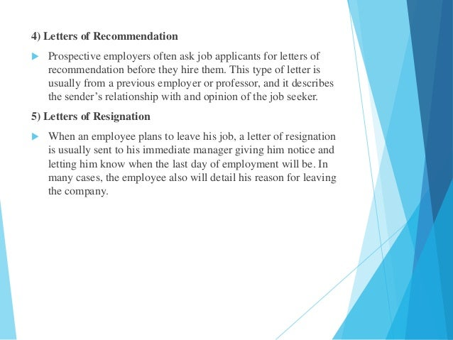 letter of recommendation for a job from previous employer