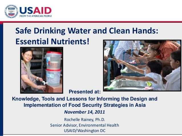 The Availabilityof Safe and Clean Water in Nigeria