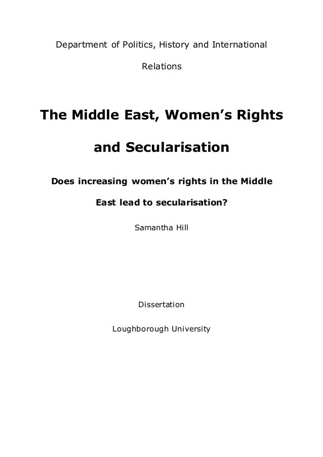 Dissertation on middle east companies
