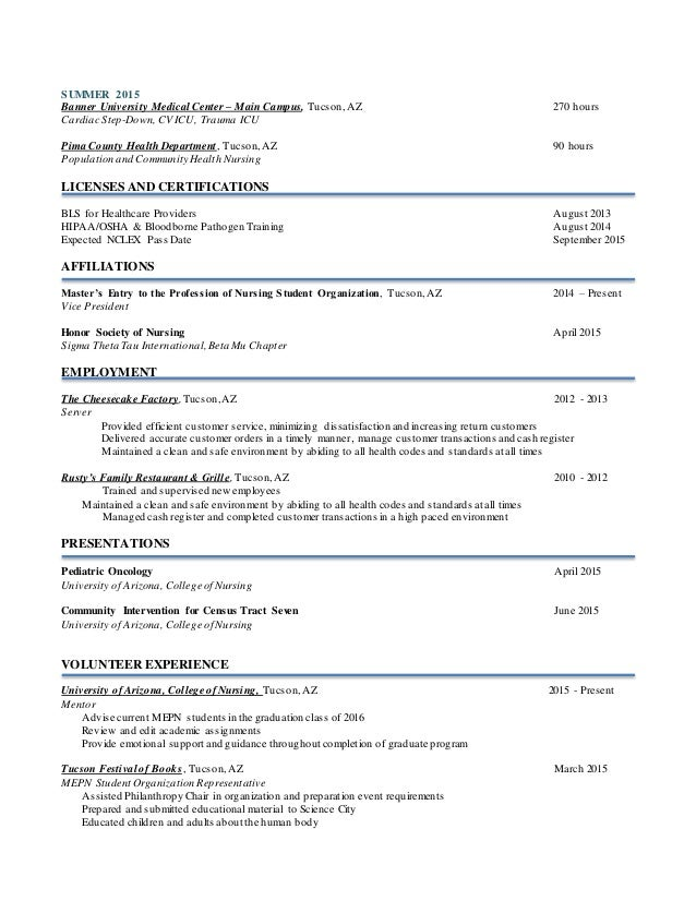 SlideShare  Registered Nurse Resume