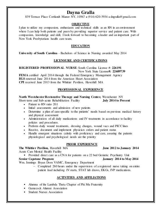 Resume Examples Templates Rn Resume Examples Registered Nurse  Student Nurse Resume