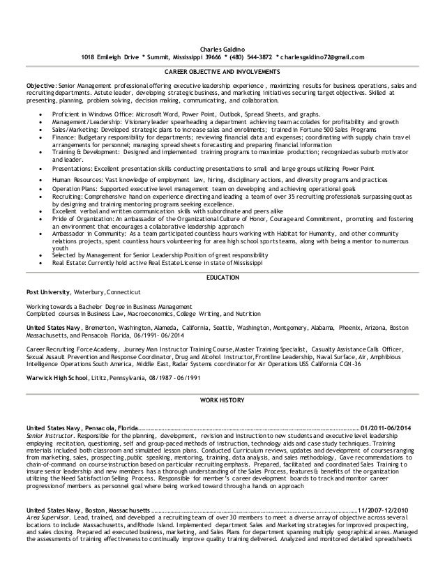 Fine Resume Career Objectives For Seaman Images - Examples ...