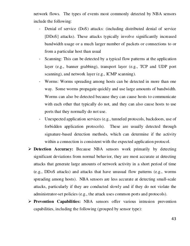 Phd thesis on intrusion detection system Naval Postgraduate School Evaluation of Intrusion Detection Systems in Virtualized Research in  Attacks Intrusions and Defenses