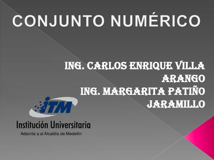 Ing. Carlos Enrique Villa                                          Arango                            Ing. Margarita Patiño...