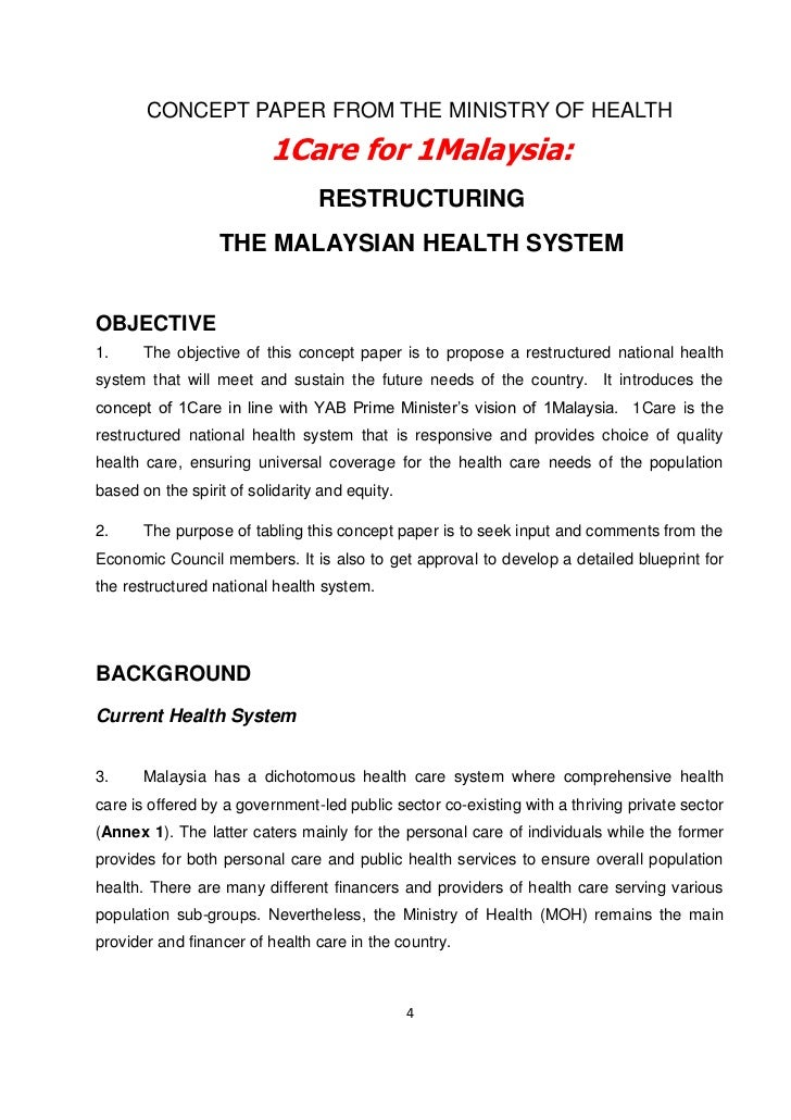 Challenges facing the 1malaysia concept