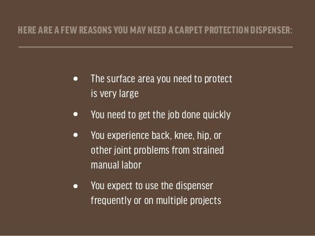 How to Assembler Carpet Protection Dispensers Slide 3