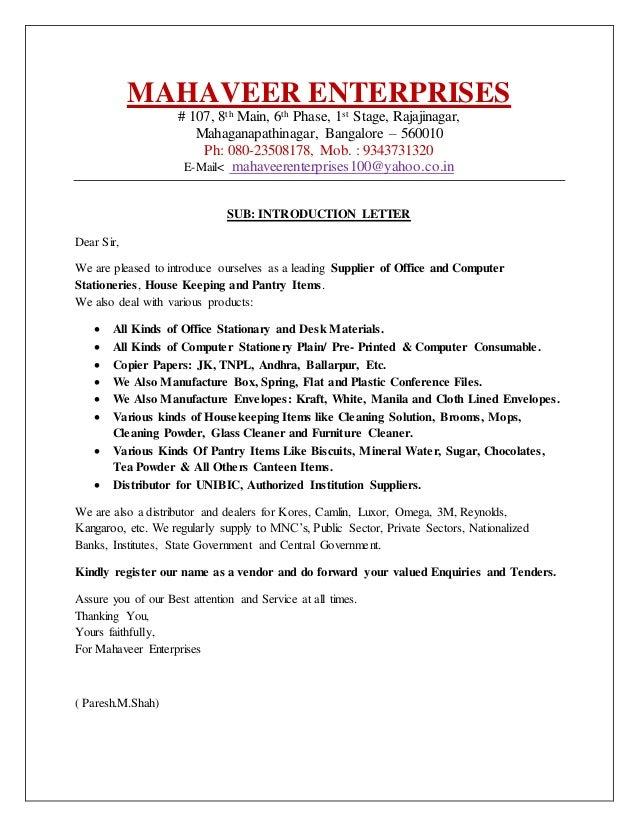 Letter to vendors ordekeenfixenergy letter to vendors spiritdancerdesigns Images