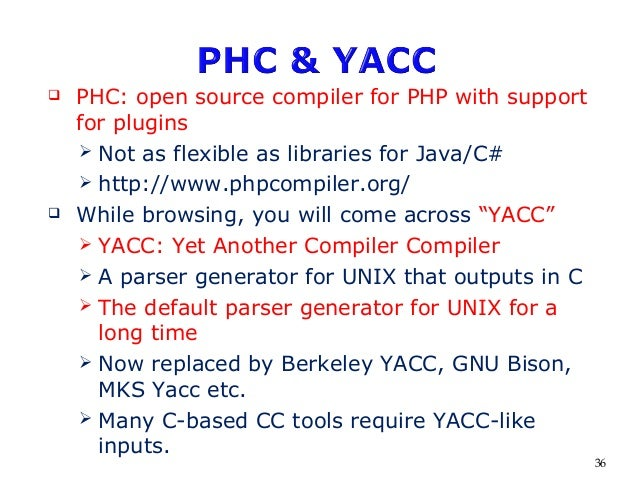 Compiler Construction Introduction