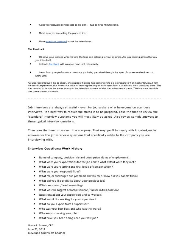Resumes, Interviews and Workplace Etiquette