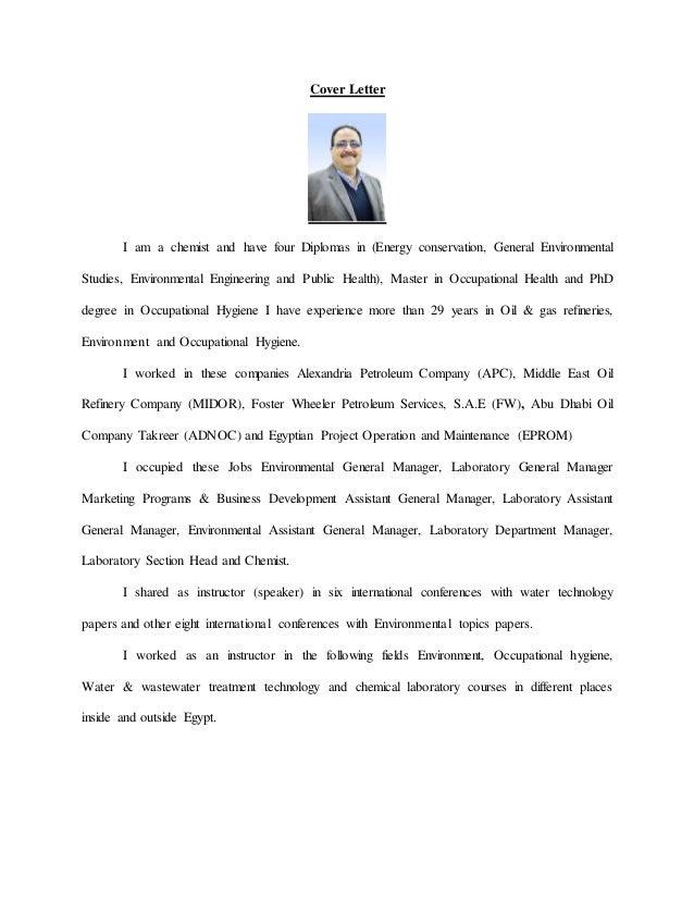 Cover Letter For Economic Development Job