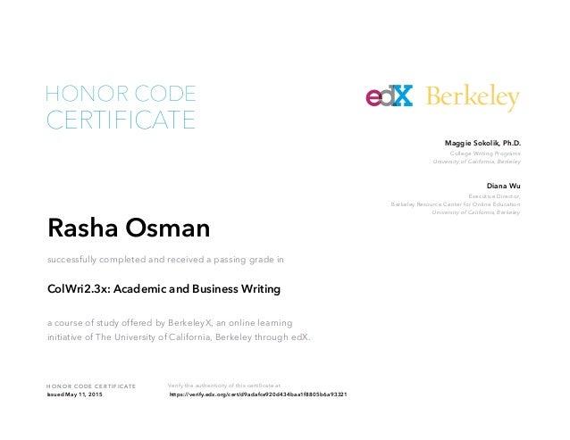 edx business writing