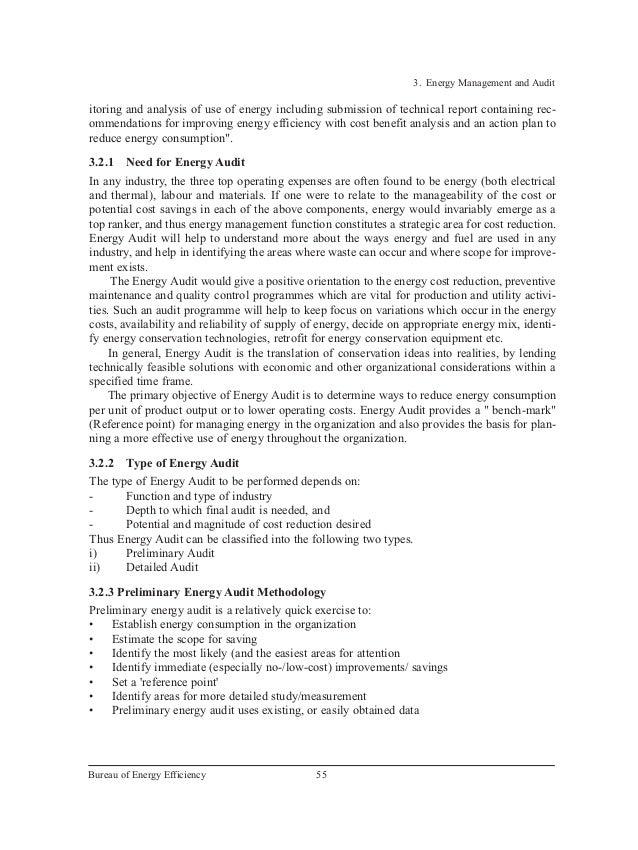Energy Management Audit