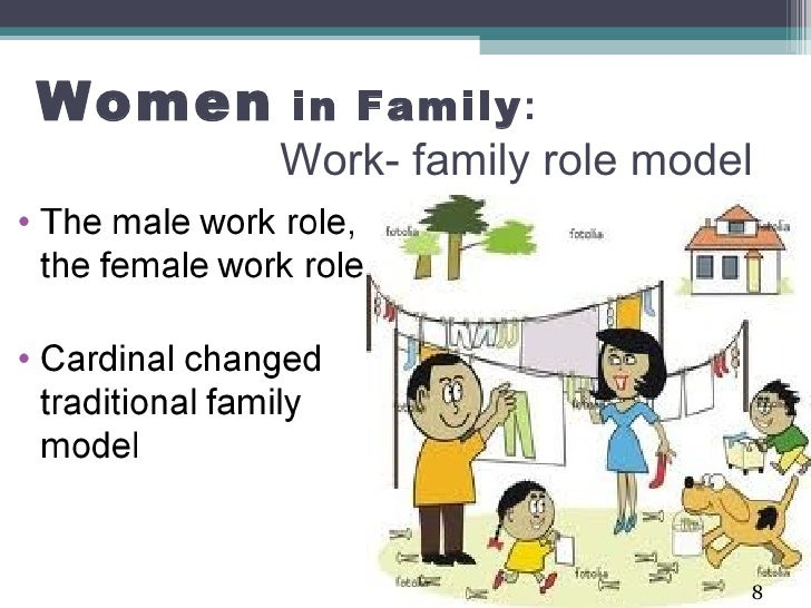 women in the family roles Women rising: the unseen barriers  goals for the proportion of women in leadership roles,  no career and can easily move—a family situation much.