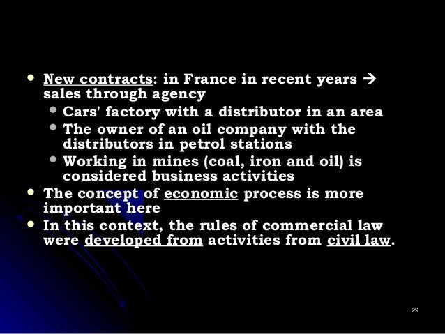  New contractsNew contracts: in France in recent years: in France in recent years  sales through agencysales through ag...