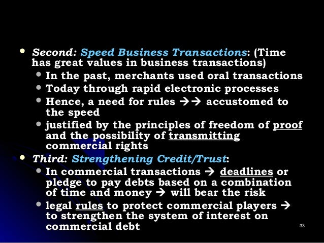  Second:Second: Speed Business TransactionsSpeed Business Transactions: (Time: (Time has great values in business transac...