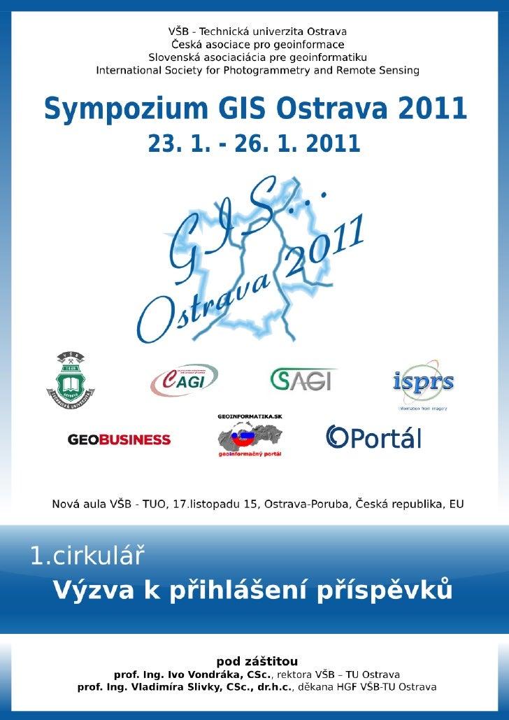 GIS Ostrava 2011 - 1. cirkulár