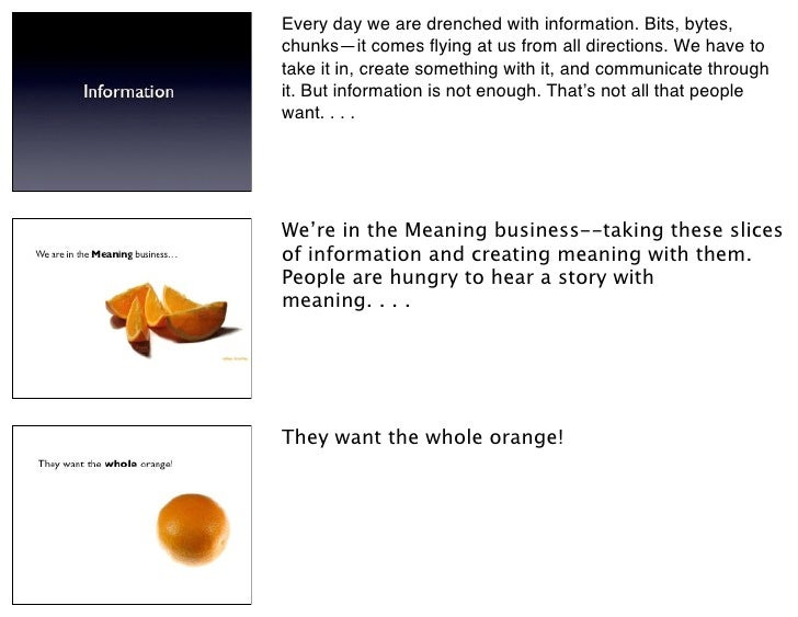 Every day we are drenched with information. Bits, bytes, chunks—it comes flying at us from all directions. We have to take ...