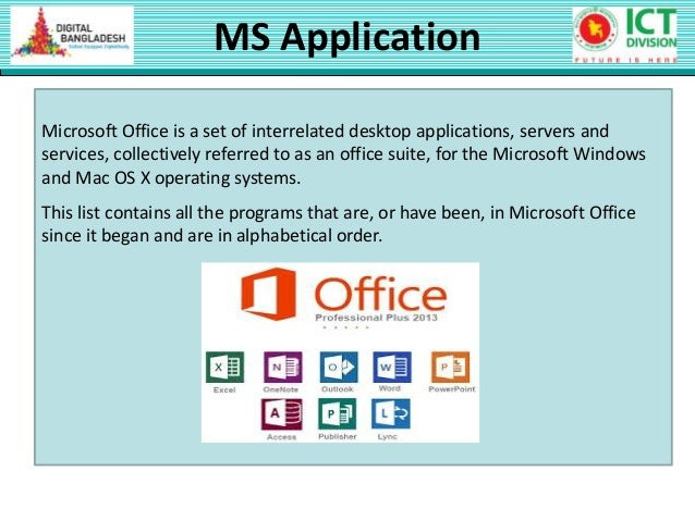 1 class 7 ms office application