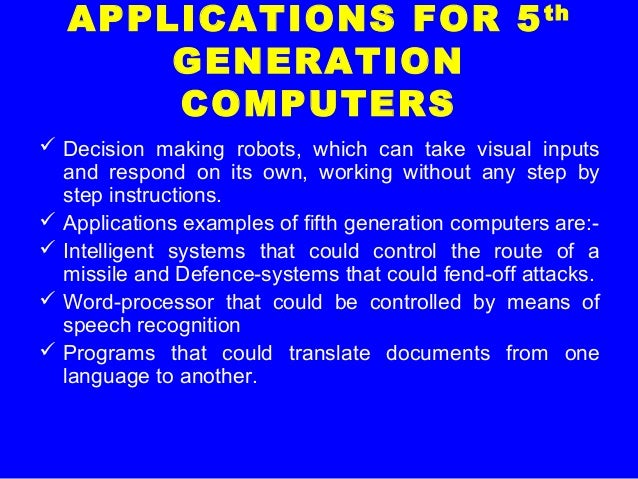 what are computer applications examples
