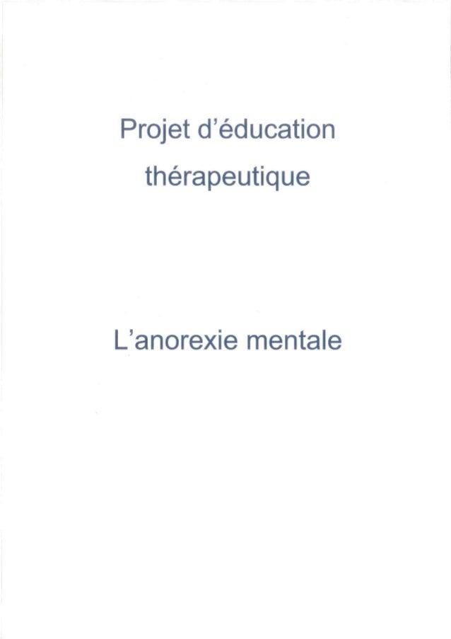 Dossier O - L'anorexie mentale: un défi accessible à relever