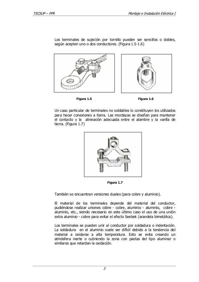 conectores, empalmes y terminales