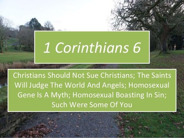 1 Corinthians 6, Homosexual, Effeminate, Transgender, LGBT