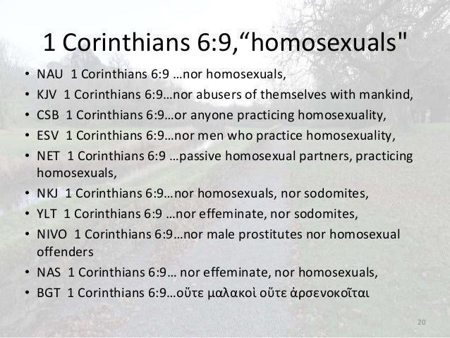 Homosexual offenders definition