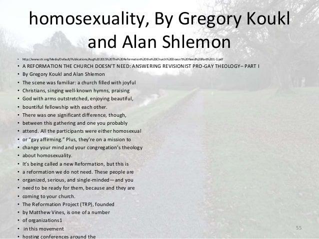 Greg koukl homosexuality and christianity