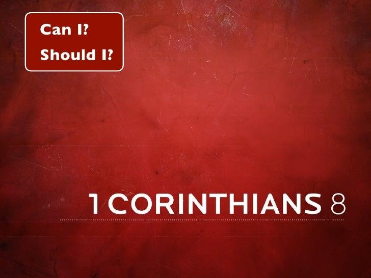 Can I? Should I?