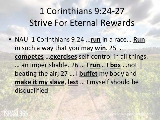 1st corinthians 9 24