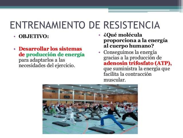 """RESISTENCIA AERÓBICA • Aeróbica significa con """"oxígeno"""". Tipos de resistencia aeróbica: • CARRERA RÁPIDA - 2 minutos a 8 m..."""