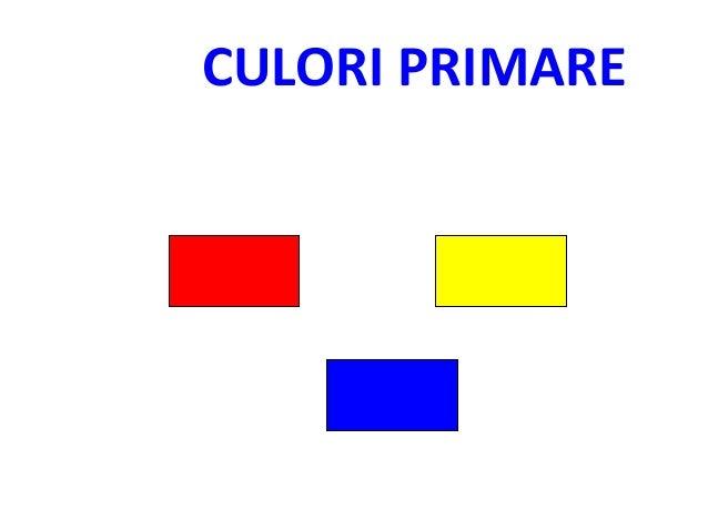 CULORI PRIMARE