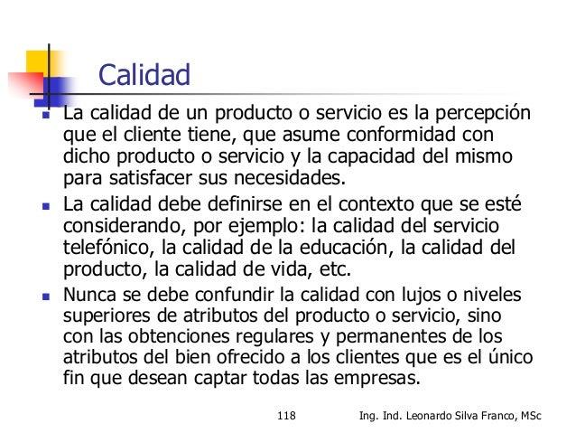 """Que es Calidad?  ISO 9000: """"Calidad: grado en el que un conjunto de características inherentes cumple con los requisitos""""..."""