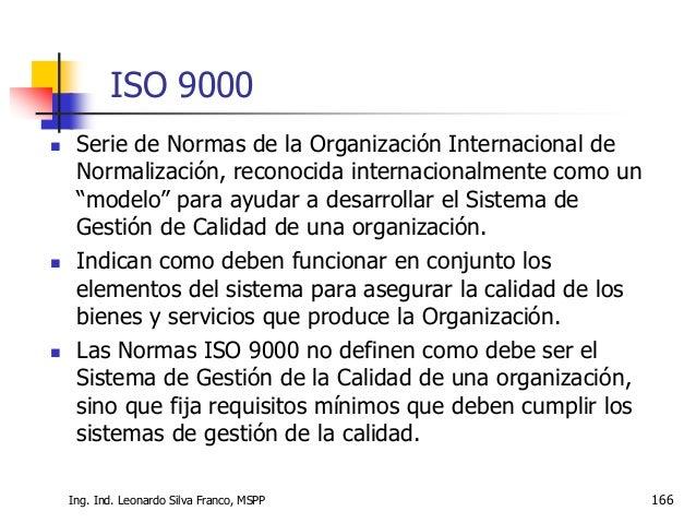 Sistemas Integrados de Gestión Ing. Ind. Leonardo Silva Franco, MSc