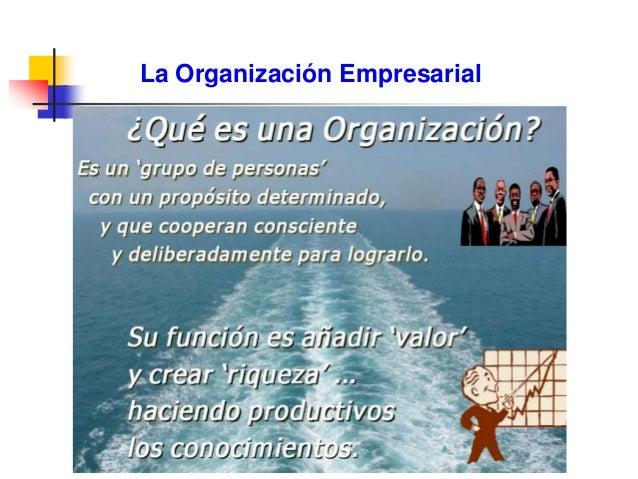 La Organización Empresarial