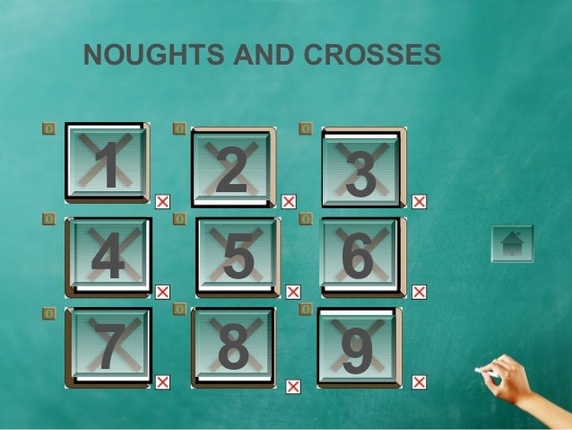 NOUGHTS AND CROSSES1     2      34     5      67     8      9