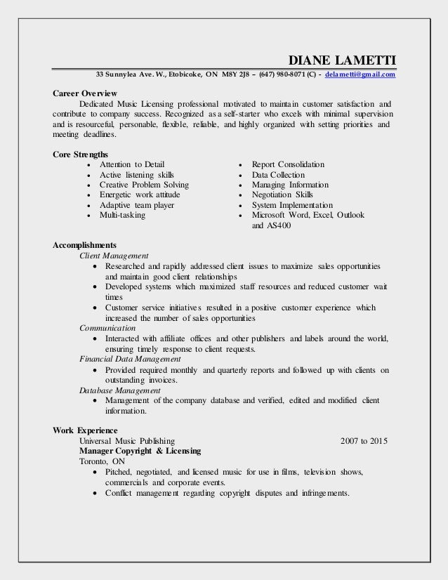 Amazing Resume Copyright Information Mold - Resume Ideas - dospilas.info