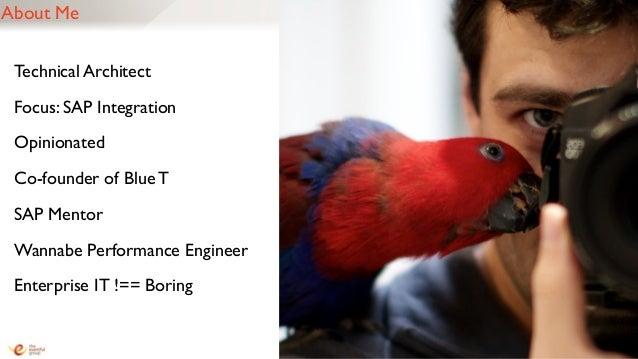 Navigating SAP's Integration Options (Mastering SAP Technologies 2013) Slide 3