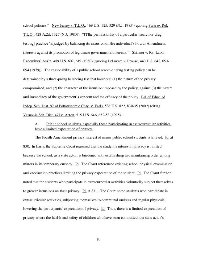 Law School Writing Sample  Interoffice Memorandum