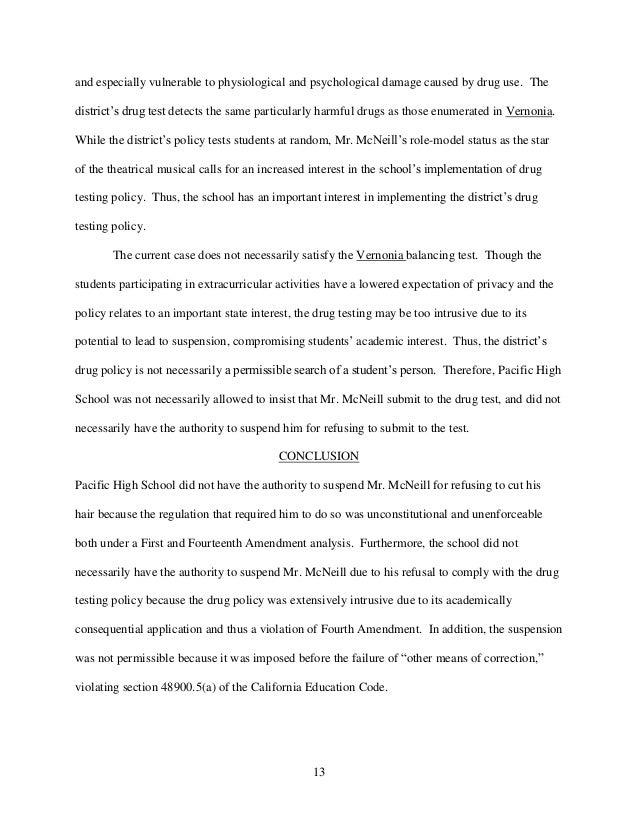 Law School Writing Sample - Interoffice Memorandum
