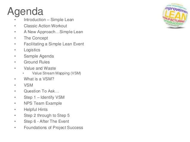 Amazing Simple Agenda