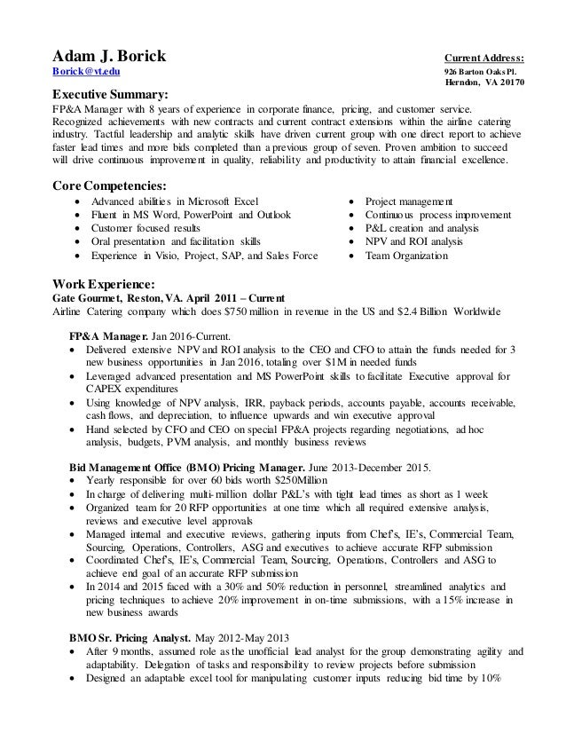 Resume March 2016 Expanded Version