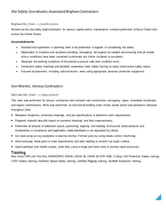 Resume update 2015