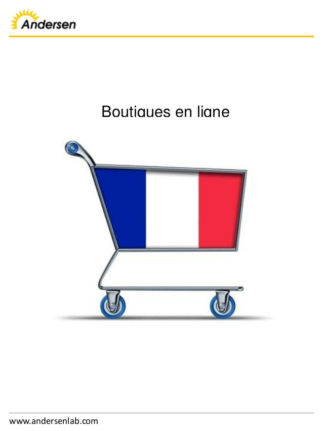 www.andersenlab.com Boutiques en ligne