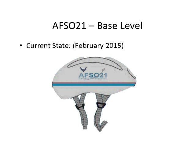 AFSO21– BaseLevel • CurrentState:(February2015)