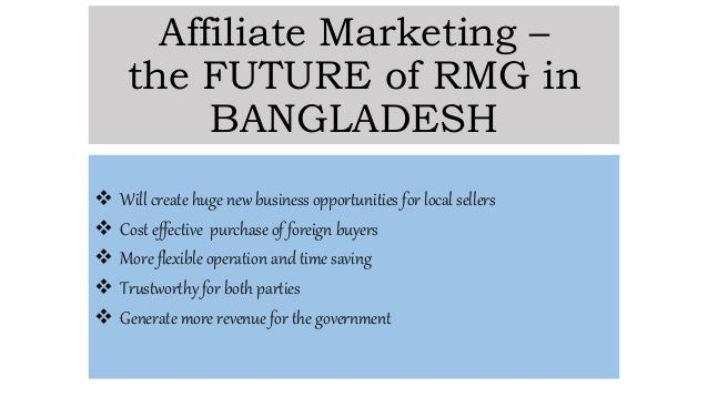 Role of RMG Sector in Bangladesh