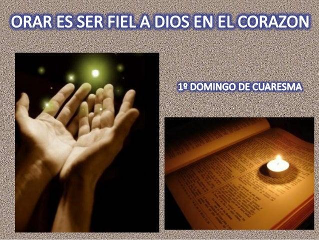 • Busca unos momentos de silencio. • Deja la ausencia y entra en la presencia de Dios. • Hazlo con las palabras de la Igle...